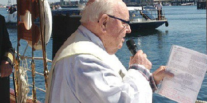 Father Bob Maguire Blessing of the Fleet