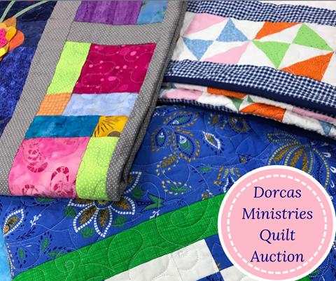 Dorcas Ministries Quilt Auction