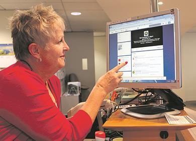 Marlborough District Council civil defence Public Information Manager Gail Stewart