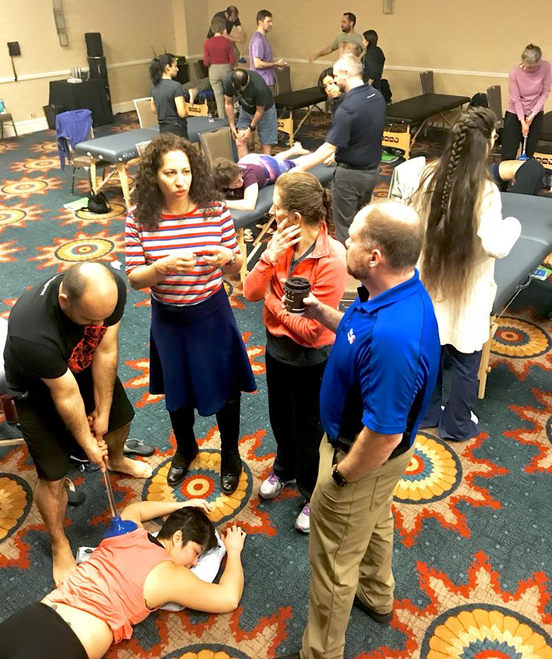 Helping healthcare practitioners learn hands-on methods to treat pain and stiffness.