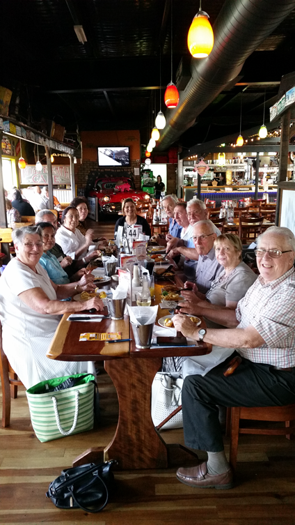 Let's Dine Out Group lunch held twice monthly at Participating venues