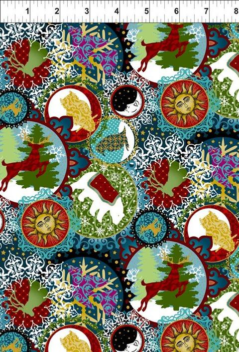 Celestial Winter at Cary Quilting
