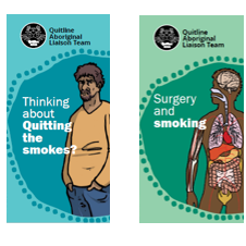 Quitline Aboriginal Liaison Team: Five New Brochures