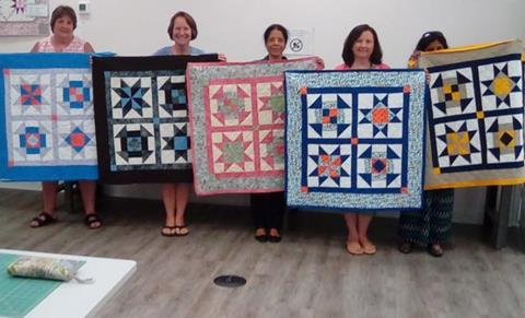 Class Survey at Cary Quilting Company