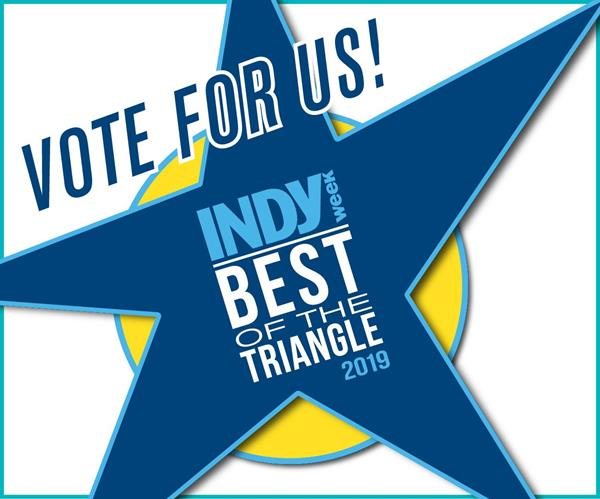 Vote for Cary Quilting Company as Best Fabric Store in the Triangle