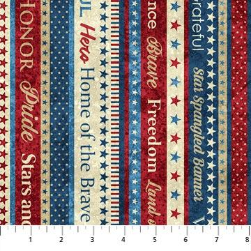 Stonehenge Stars and Stripes at Cary Quilting