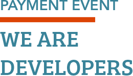 PAYMENT EVENT: WE ARE DEVELOPERS