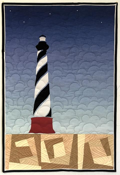 Cape Hatteras Lighthouse Quilt at Cary Quilting Company
