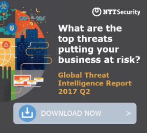 Download NTT Security Global Threat Intelligence Report 2017 Q2 Now