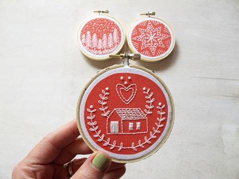 Holiday Ornaments at Cary Quilting