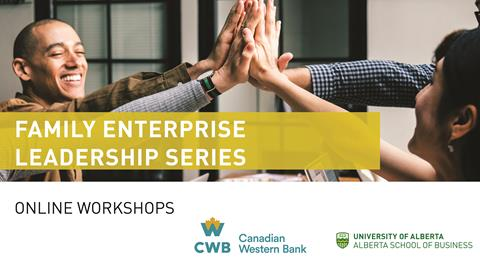 graphic of the family enterprise leadership series
