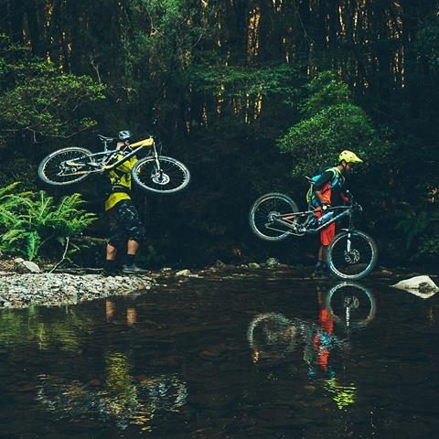 The West Coast offers plenty of mountain biking tracks to explore. Photo by Flow Mountain Bike