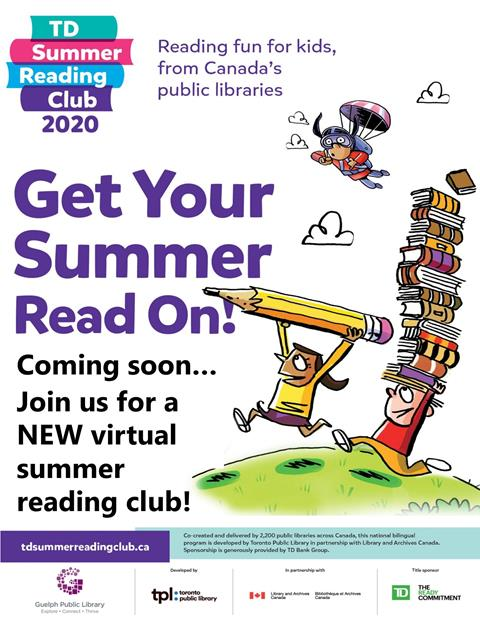 Join us this summer for a NEW virtual summer reading club. More details coming soon!