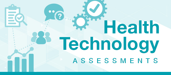 Graphic wordmark of Health Technology Assessments