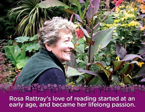 Rosa Rattray's love of reading started at an early age, and become her lifelong passion. Learn more about Rosa Rattray at www.guelphpl.ca/rosa
