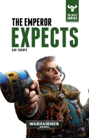 Cover of The Emperor Expects by Gav Thorpe, published by Black Library