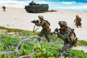 Ballistic plates with Australian technology could be used to protect US Marines. Defence