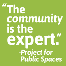 """A stylized quote from the article: """"The community is the expert."""""""