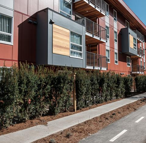 A suite of new affordable housing recently opened in Colwood, BC