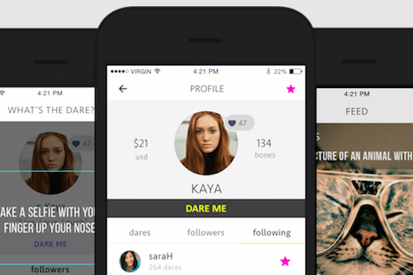 DOUBLE DOG DARE APP LETS YOU WIN REAL MONEY BY COMPLETING DARES