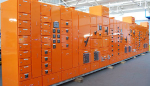 A low voltage switchboard produced by Lai Switchboards Australia. Credit: Lai Switchboards Australia