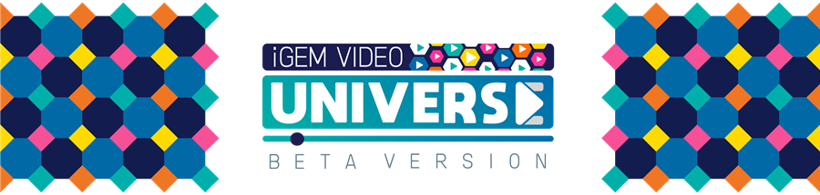iGEM Video Universe: Beta Version banner
