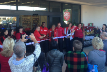 Michael's Ribbon Cutting