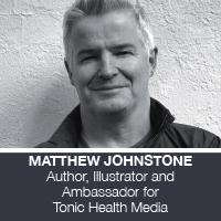 Matthew Johnstone, Author and Illustrator, Tonic Health Media