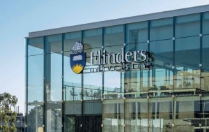 Flinders University Hub building