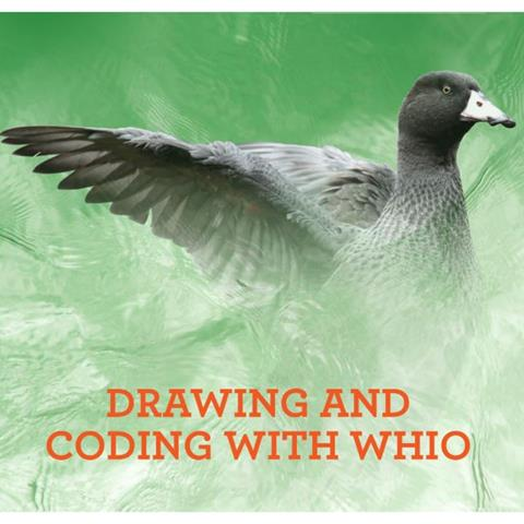 Drawing and coding with whio