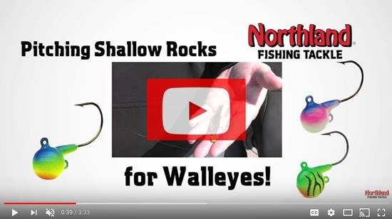 Pitching Shallow for Walleyes