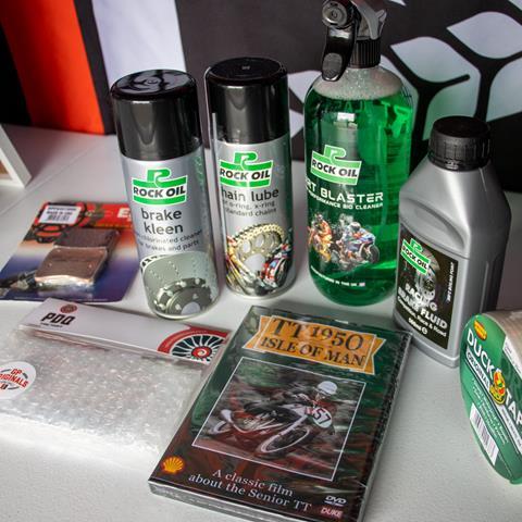 The Race Raffle prizes at GP Originals