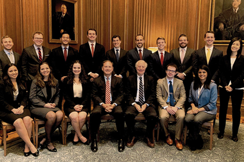 Duke Law Students with Justice Alito
