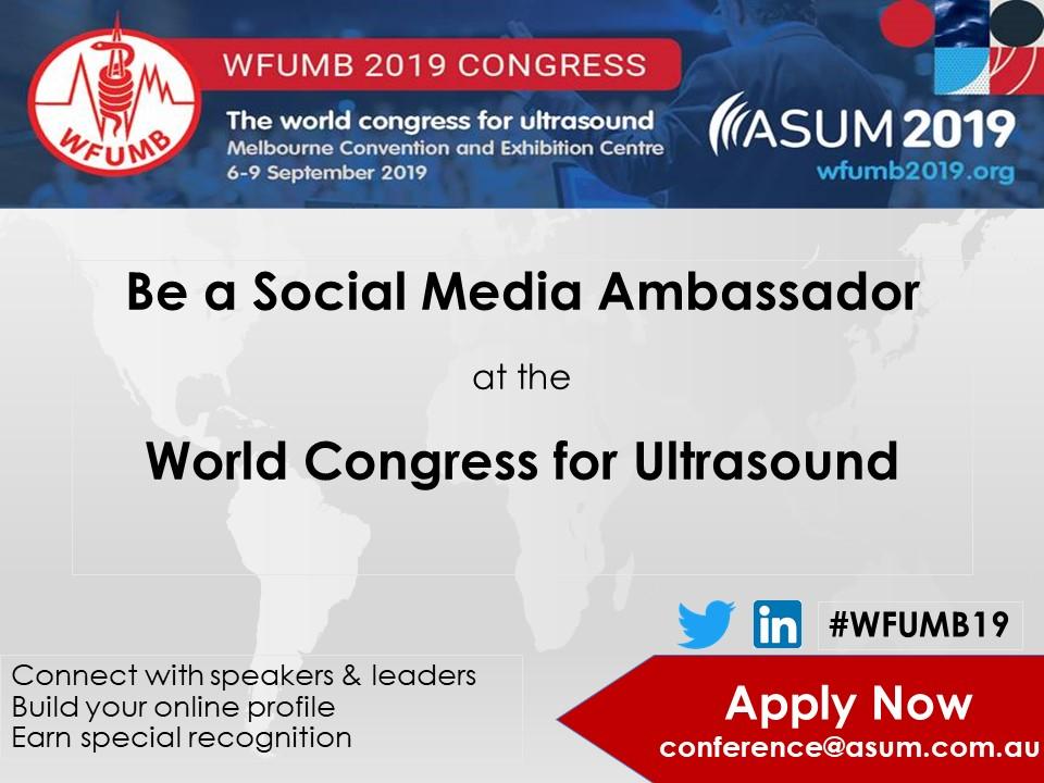 Be a Social Media Ambassador