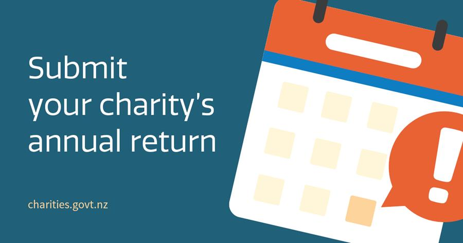 Submit your charity's annual return