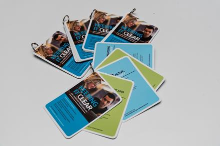 Image of the Keeping it Clear Flip Cards