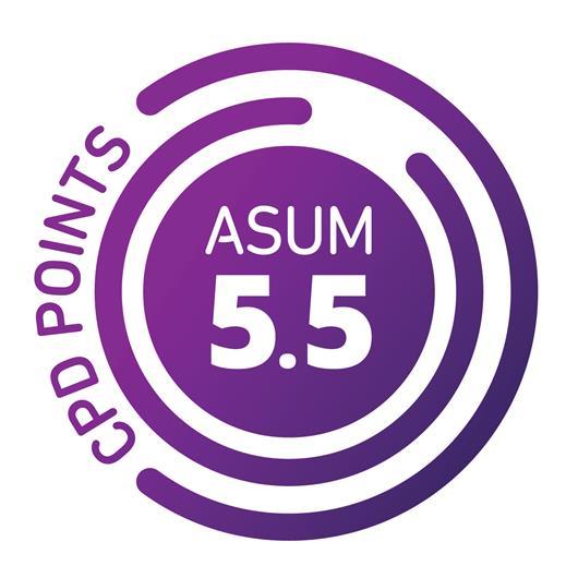 Earn 5.5 myASUM CPD Points