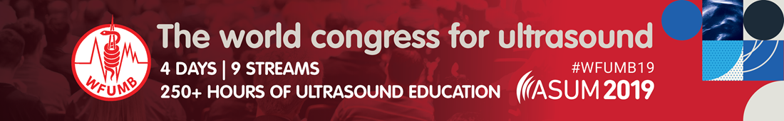 WFUMB19 World Congress for ultrasound