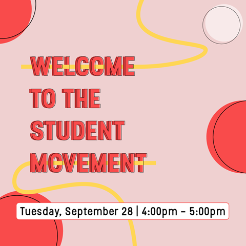 Welcome to the Student Movement