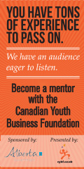 Canadian Youth Business Foundation Mentoring