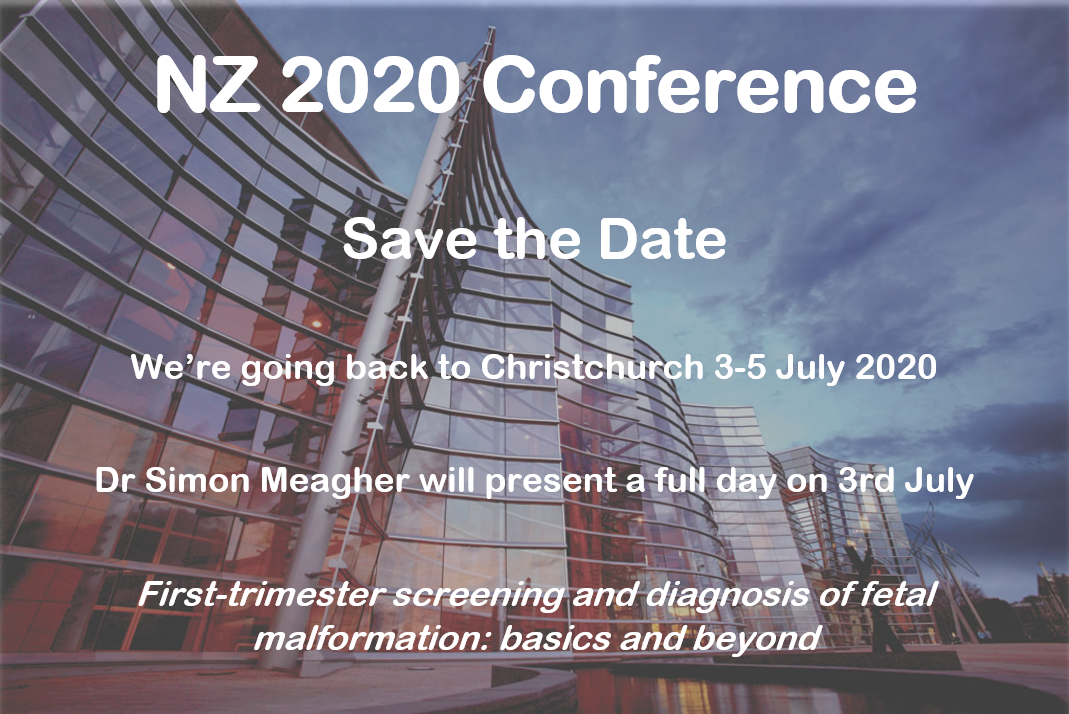 SAVE THE DATE - NZ 2020 Conference