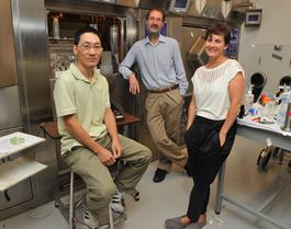 Drs. Junchao Tong, Alan Wilson and Isabelle Boileau