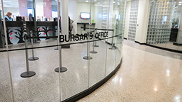 bursar's office