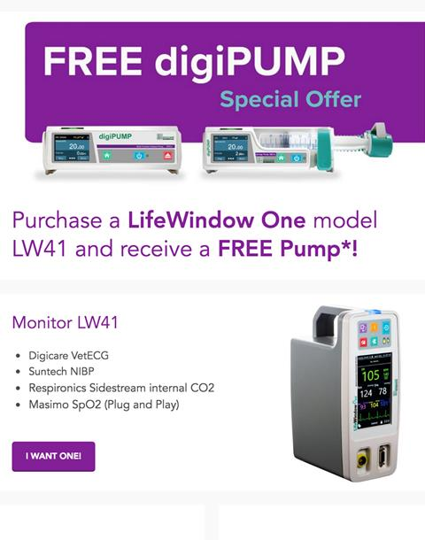 Free digiPUMP - Special Offer