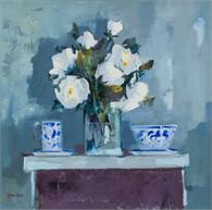 Blue and White Porcelain - Mary Davidson