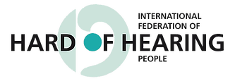 Logo - International Federation of Hard of Hearing People