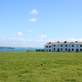 Photo of St Ann's Head lighthouse cottages