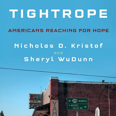 Cover of Tightrope by Nicholas D. Kristof and Sheryl WuDunn