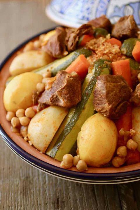Tunisian cous cous