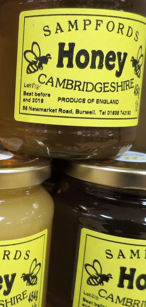 Bury Lane Farm Shop Cambridgeshire Honey June 2018 1